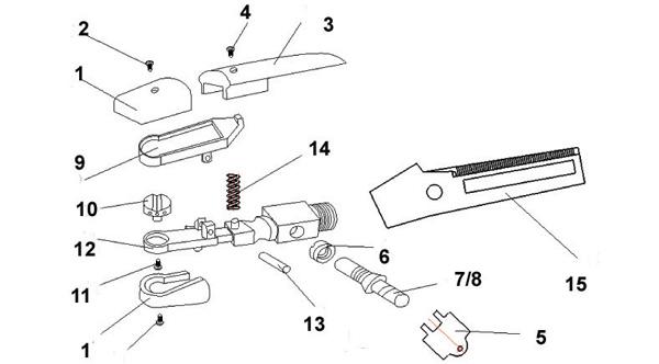 K4000-Assembly-list